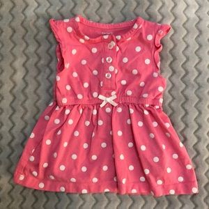 3/$25 Carter's 3M Polka Dot Sleeveless Dress